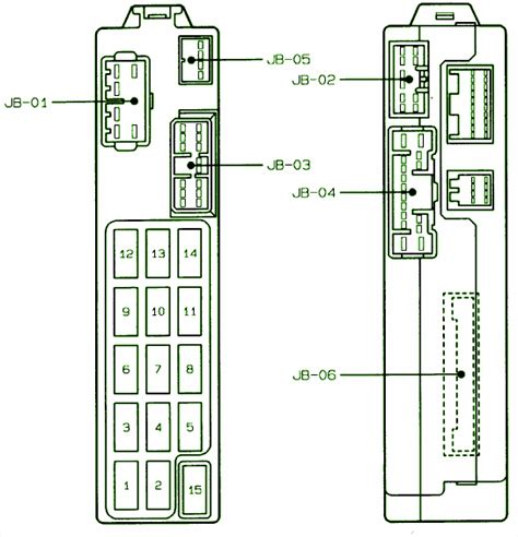 Rear Wiper Circuit Wiring Diagrams