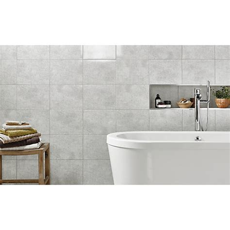 wicks kitchen tiles wickes tivoli grey ceramic wall tile 330 x 250mm wickes 1098