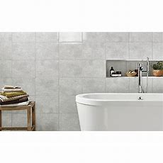 Wickes Tivoli Grey Ceramic Wall Tile 330 X 250mm  Wickes