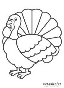 HD wallpapers kids coloring turkey template