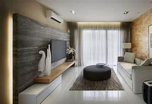Wohnzimmer Wand Holz : 120 ideen f r wohnzimmer design im trend in dem man sich ~ Lizthompson.info Haus und Dekorationen