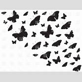 butterflies-flying-away-black-and-white