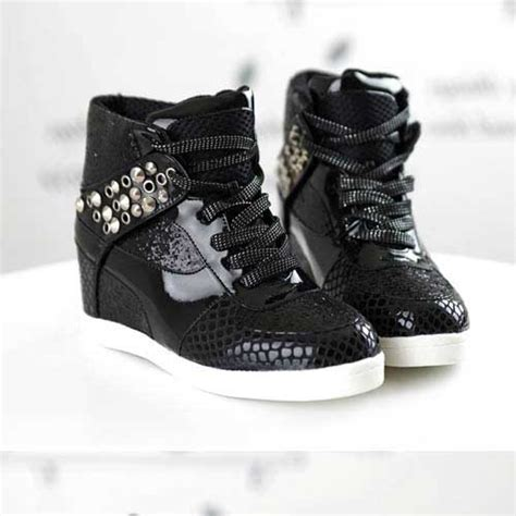 basket femme montante vernis clous high top sneakers fashion mode 2012 2013 ref10 jpg