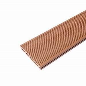 Lame De Terrasse Composite Castorama : lame de terrasse composite dixi marron x cm ~ Dailycaller-alerts.com Idées de Décoration