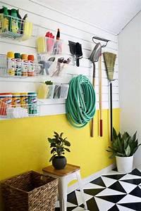 Idée Rangement Garage : rangement malin pour outils de jardinage 24 id es ~ Melissatoandfro.com Idées de Décoration