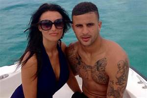 Kyle Walker: Meet Man City target's stunning WAG as Spurs ...