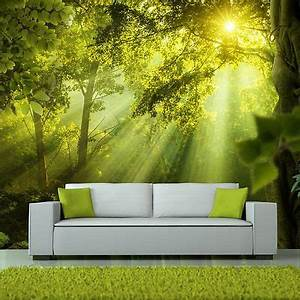 vlies fototapete tapeten xxl wandbilder tapete wald natur With balkon teppich mit tapete wald