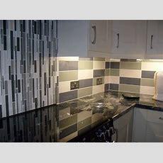 Linear Cream Gloss Wall Tile  Kitchen Tiles From Tile