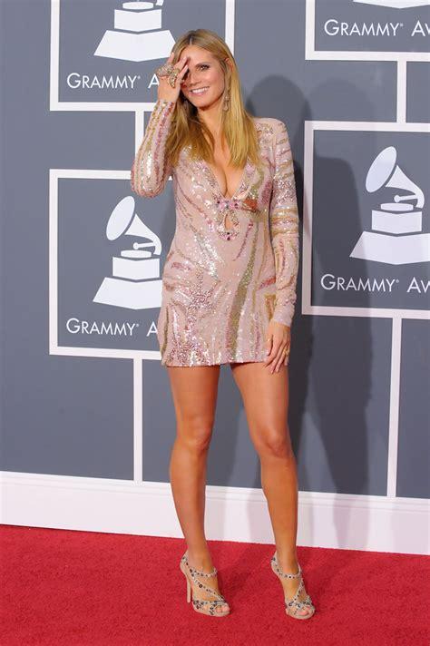 Heidi Klum Photos Annual Grammy Awards