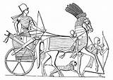 Coloring Egyptian Egypt Ancient Chariot Pages Hieroglyphics Adults Queen Hieroglyphs Adult Cleopatra Egypte Printable Simple Hieroglyph sketch template