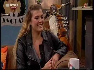 """A cantora Romana, convidada de Nuno Markl """"5 Para a Meia ..."""