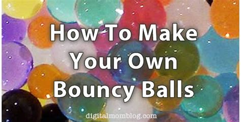 how to make your own pops make your own bouncy balls