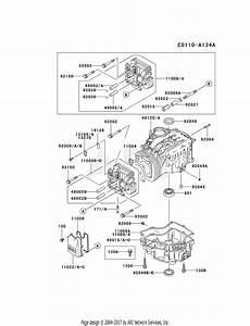 Kawasaki Fc540v Crankcase
