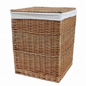 Buy, Square, Natural, Wicker, Laundry, Basket, From, The, Basket, Company