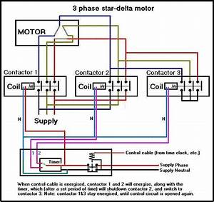 Motor Star Delta Connection