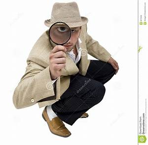 Sitting detective stock photo. Image of handle, tool ...