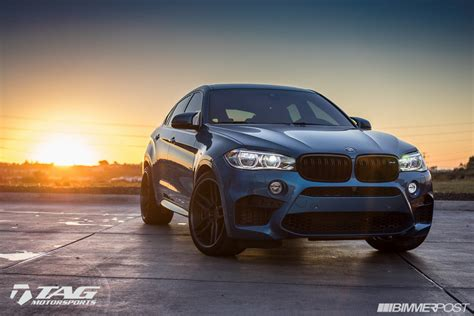 Modified Bmw X6m by Photoshoot Pics Blue F86 X6m On 22 Quot Adv1 S