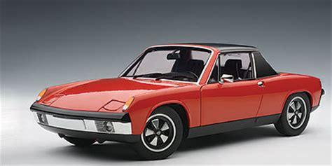 AUTOart: 1970 Porsche 914/6 - Blut Orange (77932) in 1:18 ...