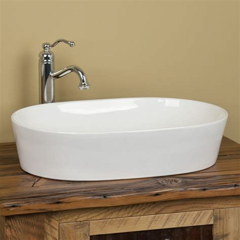 photos of vessel sinks norris oval porcelain vessel sink bathroom