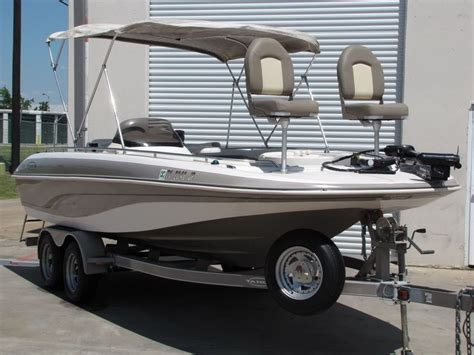 Deck Boat Fish And Ski by No Reserve 01 Tahoe 202 Fish And Ski 20ft Deck Boat With