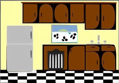Kitchen Clipart Clip Cliparts Cartoon Clipartix Wikiclipart