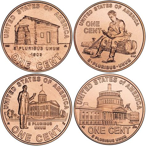 lincoln bicentennial cent  mintage specifications
