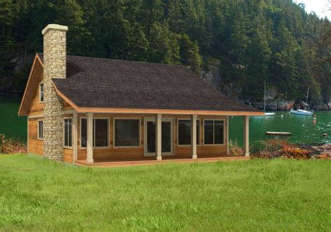 images country cabin kits house plans the sandpiper cedar homes
