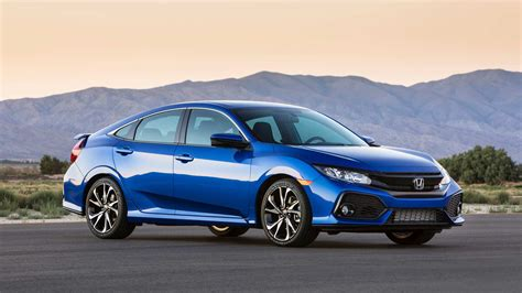 2019 Honda Civic Si Gets New Colors & Interior