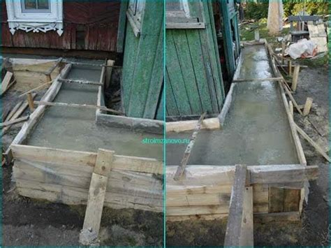 betonschalung selber bauen fundament selber machen
