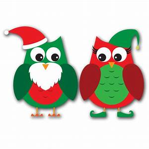 Christmas Owls Clipart - Clipart Suggest