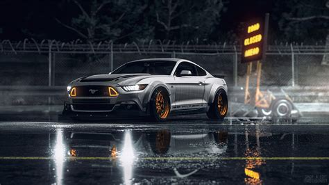 Mustang Power Hd Wallpaper