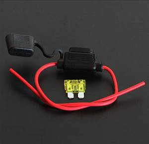 Prise 20 Ampere : car 20 amp ato blade in line fuse holder fuseholder ~ Premium-room.com Idées de Décoration