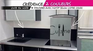 credence de cuisine en verre trempe credence pinterest With credence cuisine verre trempe