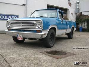 1972 Dodge Pickup - Information And Photos