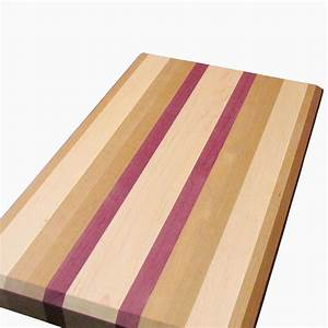 Buy a Hand Made Cherry, Maple And Purple Heart Cutting