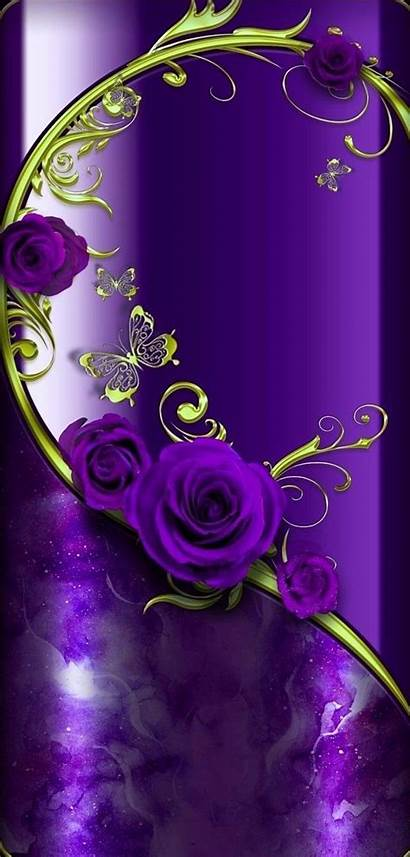 Purple Artist Iphone Things Hues Backgrounds Unknown