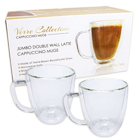 Double wall insulated glass espresso cup, coffee cup, or tea cup. Top 20 Best Double Wall Glass Coffee Cups 2019