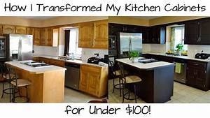 how i transformed my kitchen cabinets for under 100 With kitchen cabinets lowes with custom roll stickers cheap