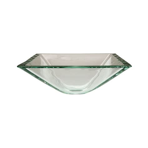 Shop Elements Of Design Fauceture Crystal Clear Glass