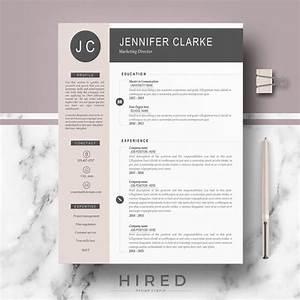 Resume Cv Template Modern  U0026 Professional Resume For Word