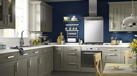 Kitchen Paint Colors B And Q by Carisbrooke Taupe Kitchen Cabinet Doors Fronts