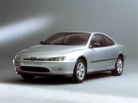 PEUGEOT 406 Coupe - 1997, 1998, 1999, 2000, 2001, 2002 ...