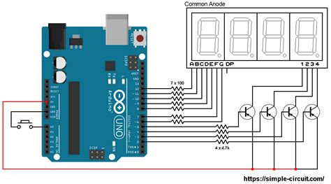 Interfacing Arduino With Segment Display Digit