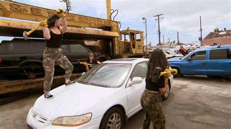 brie nikki  paige  sledgehammers  cars  news