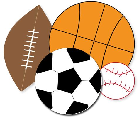 clipart sport free sports clipart for crafts school projects