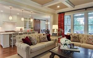 Sophisticated Farmhouse - Traditional - Living Room