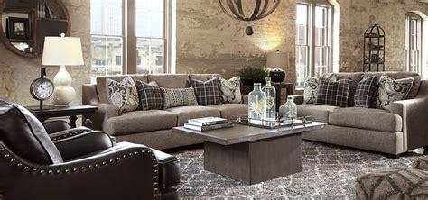 gypsum living room   showroom floor   ashley