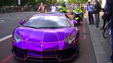 A 0,000 Purple Lamborghini Aventador Could Be Destroyed