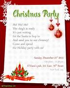 Christmas Party Invitation Wording Templates Download Free Printable Invitations Of Holiday Party Free Printable 50th Birthday Party Invitation Templates 7 Best Images Of Christmas Party Free Printable Template