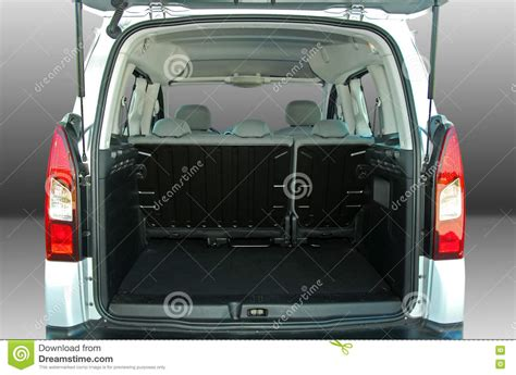 Empty Car Trunk Royalty-free Stock Photography